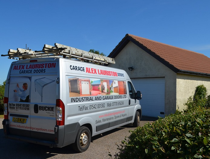 Alex Lauriston Garage Doors Moray covering Elgin, Inverness and Aberdeen