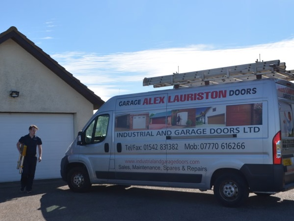 Alex Lauriston Garage Door Repairs Moray including Elgin, Lossiemouth, Forres, Buckie